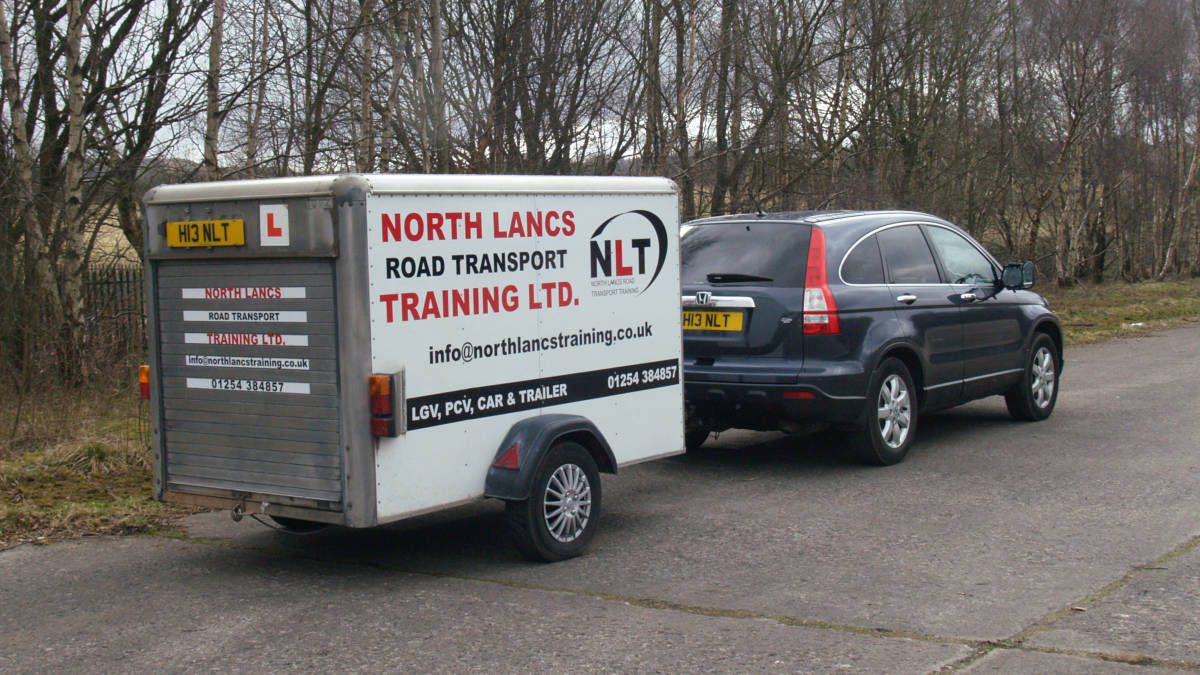 Car with Trailer Driver Training