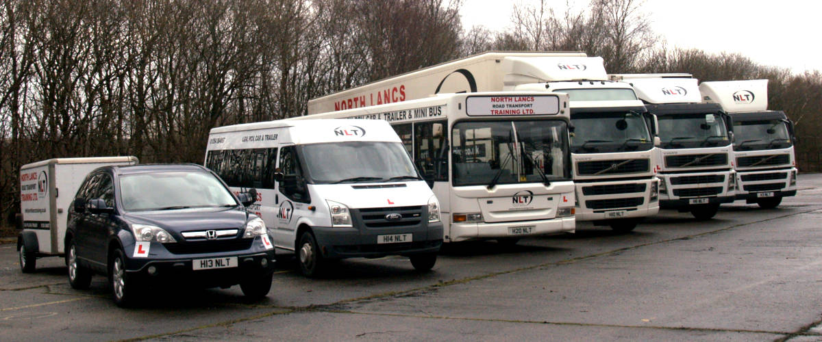 Driver Training Vehicle Fleet
