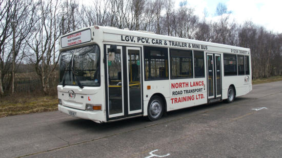 PCV Bus Training Vehicle