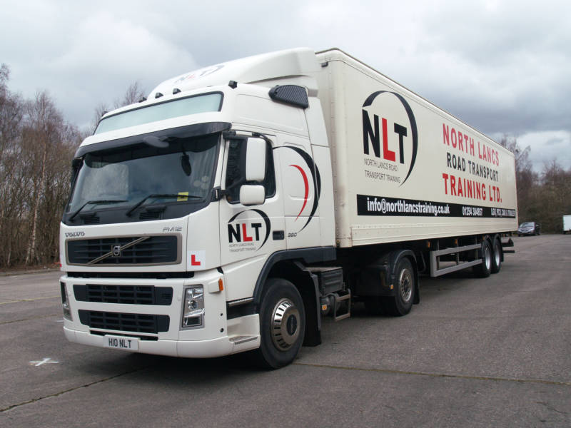 Volvo FM12 with Trailer Driving Test Prepared